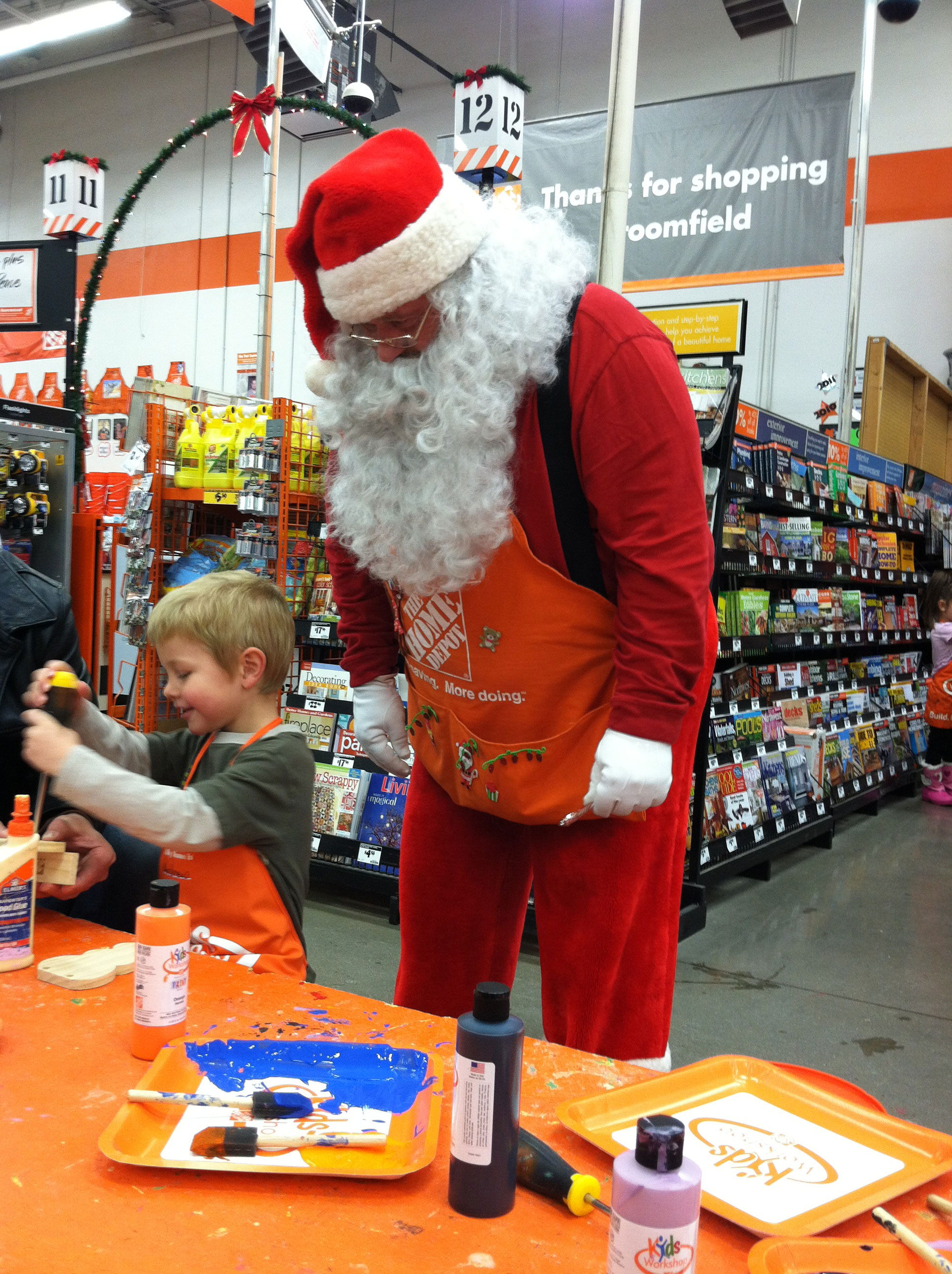Home depot kids workshop cpeezers at home for Kids crafts at home depot