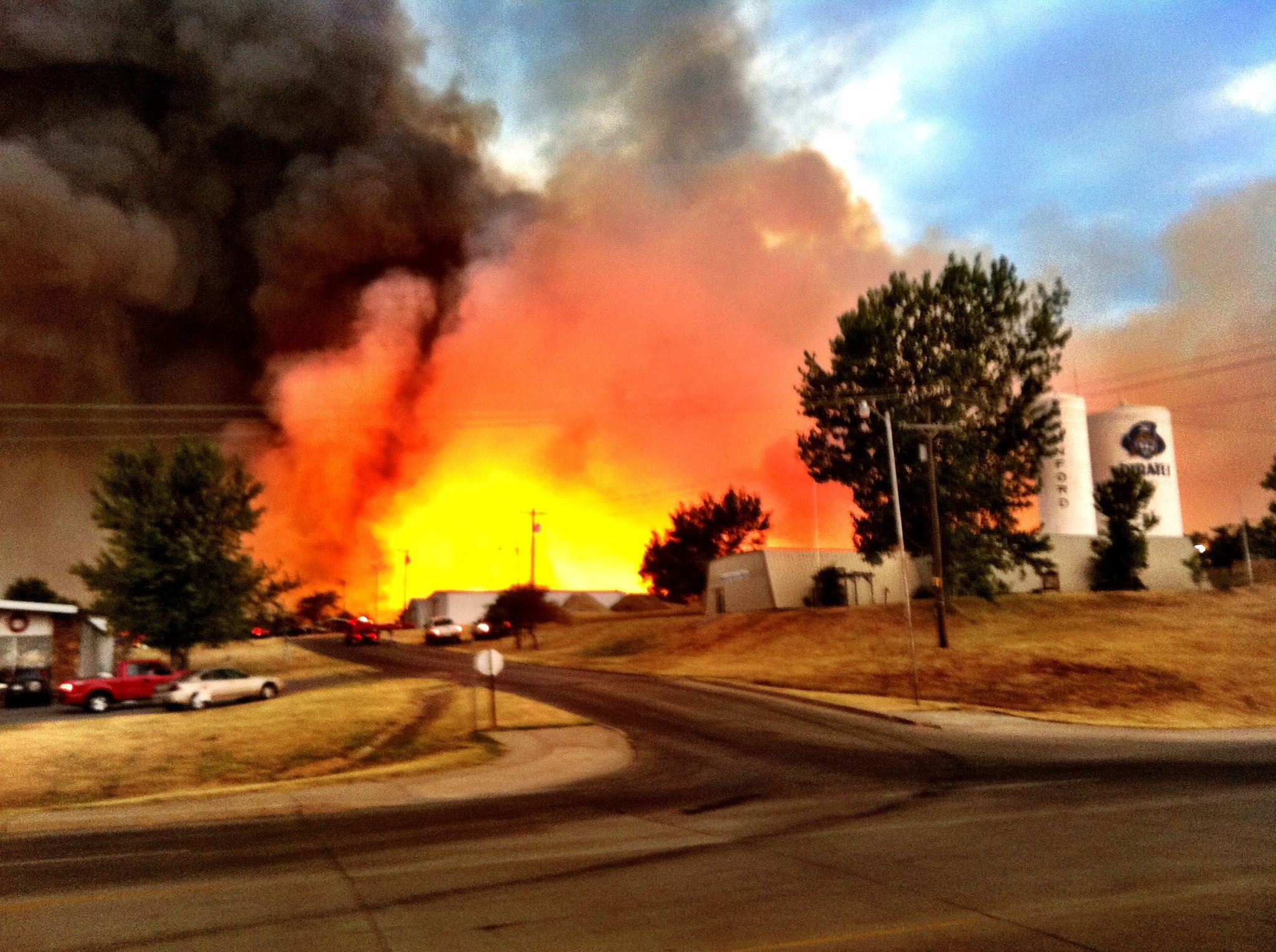 Oklahoma Wildfires and on a brighter note… | Cpeezers at Homemannford town