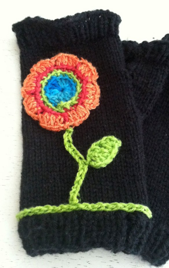 glove-with-flower