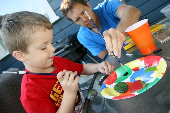 davey-and-daddy-painting
