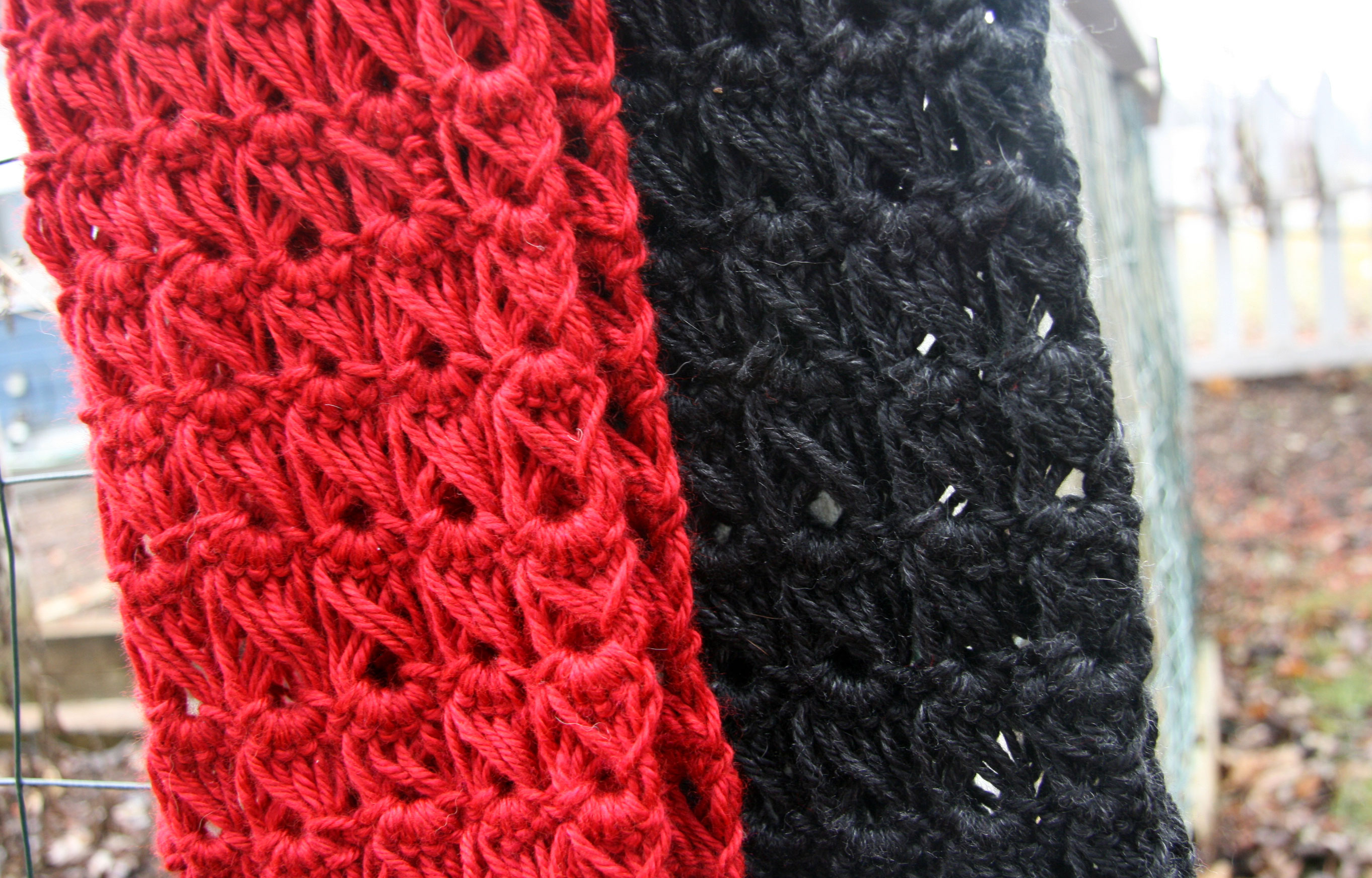 """Broomstick Lace Infinity Cowl: A little """"how-to""""   Cpeezers"""